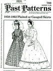 Внешний вид - PLEATED OR GUAUGED SKIRT SEWING PAST PATTERNS #700 CIVIL WAR VICTORIAN REENACTOR