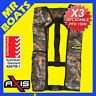 3 x AXIS INFLATABLE LIFEJACKET -CAMO- 150N PFD1 OFFSHORE Boat Manual Life Jacket