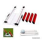 Pro Speed Trap Base Golf Swing Training Aid 4Rods Hitting Practice Golf Trainer