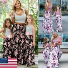 Matching mother daughter mommy and me clothes dress family look clothing outfit