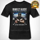 Brantley Gilbert Live Concert Rare S-3XL MEN'S T Shirt image