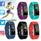 Sports Fitness Tracker Blood pressure Heart Rate Monitor Smart Watch Wristband