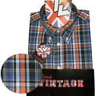 Warrior UK England Button Down Shirt DEKKER Hemd Slim-Fit Skinhead Mod