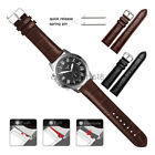 22mm 20mm Crocodile Leather Wrist Watch Band Strap For Fossil Q Smart Watch image