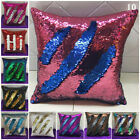 Chair Pillowcase Cover Office Wedding Decor Sequin Car Double Sided Fashionable