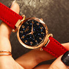 Ladies Watch Starry Sky Diamond Dial Women Bracelet Watches Magnetic leather ETS image