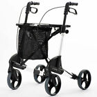 Topro Troja Classic Rollator Walking Frame With Seat Includes Backrest & Bag