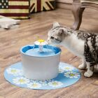 Automatic Pet Dog Cat Water Drinking Flower Fountain Drink Dish Filter Bowl Sale