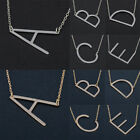 Simple Creative Letter Chain Alloy Pendant Necklace Choker Women Jewelry Gifts image