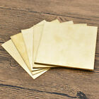 Brass Metal Thin Sheet Plate Shim 100x100mm Metalworking 0.8mm/1mm/1.5mm/2mm/3mm