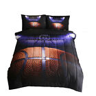 Comforter Set Basketball Quilt Doona + Pillowcase for Boy Sports Fans Full Size image