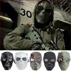 Skeleton Skull Full Face Eye Protect Mask Army Paintball Game Role Playing Tool