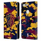OFFICIAL NBA 2018/19 CLEVELAND CAVALIERS LEATHER BOOK CASE FOR GOOGLE PHONES