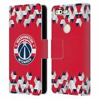 OFFICIAL NBA 2018/19 WASHINGTON WIZARDS LEATHER BOOK CASE FOR GOOGLE PHONES