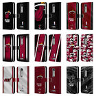 OFFICIAL NBA MIAMI HEAT LEATHER BOOK WALLET CASE COVER FOR MOTOROLA PHONES 2 on eBay