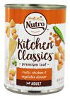 Nutro - Kitchen Classics Premium Loaf Adult Canned Dog Food Family Dinner with