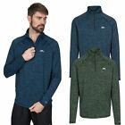 Trespass Gerry Mens Walking Hiking Half Zip Fleece Casual Jumper Pullover
