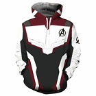 Avengers: Endgame Quantum Battle Suit Hoodies Coat Sweatshirt Cosplay Costume