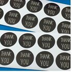 Thank You Sticker Labels Seals Craft Wedding Favours Toppers Hand Made Gifts