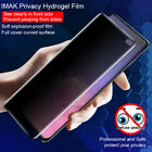 For Samsung Galaxy S10/S10 Plus IMAK Privacy Hydrogel Soft Full Screen Protector