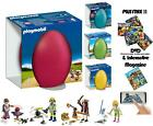 Playmobil Pasqua Egg Space Agente Cartomante Custode Dello Zoo & Pirata