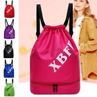 Men Women Ladies String Bag Sport Drawstring Bag Sports Backpack Gym Sackpack
