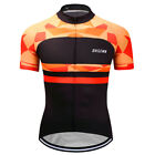 Men's Cycling Clothing Bicycle Jersey Sportswear Short Sleeve Bike Tops T-Shirts