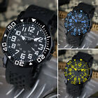 INFANTRY Men's Sport WRIST WATCH Quartz Movement Rubber Strap Analog Display image