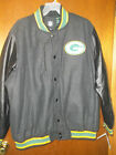 Green Bay Packers jacket  NFL lettermens Jacket Retail $99 New  3XL $45.0 USD on eBay
