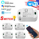 Smart Home WiFi Wireless Light Switch Plug Module Monitor W/ Google Home Alexa