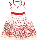 Kyпить New Disney Parks The Dress Shop White Red Mary Poppins Penguins Youth Dress S-XL на еВаy.соm