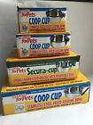 Coop Cup (Bolt On) Dog -Cat - Bird -  Feeding / Water Bowl for Cage, pen, kennel