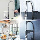 Kitchen Pull Out Spray Sink Faucet Swivel Mixer Tap Chrome/ORB Oil Rubbed Bronze