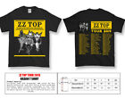 ZZ TOP 50 TH ANNIVERSARY CONCERT TOUR 2019 T SHIRT FOR MEN ALL SIZE image