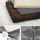 Kyпить Absorbent Soft Memory Bathroom Mat Carpet Bath Rug Home Foam Floor Non Slip Gift на еВаy.соm