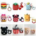 Cute Cartoon Favorite Silicone Airpods Case Cover For Apple Airpods Accessories $7.99  on eBay