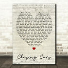 Chasing Cars Script Heart Quote Song Lyric Print