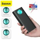 Baseus 20000mAh Power Bank Type C PD USB QC External Battery for iPhone Samsung for sale  Shipping to Nigeria