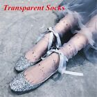 1 pair Transparent Thin Lace Mesh Women