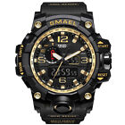 SMAEL Mens Sport Watches Military Shock Analog Quartz Digital Waterproof Watch S