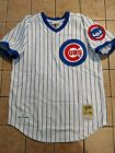 Ryne Sandberg Chicago Cubs Mitchell  Ness 1987 Authentic Jersey Mens White NWT