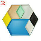 Stainless Tray Combination Storage Tray Polygon Jewelry Display Plate Fruit Food