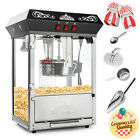 Vintage Style Popcorn Machine Maker Popper with 8-Ounce Kettle