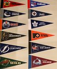 "NEW NHL Hockey Teams Mini Pennants 4""x9"" New Rico $1.19 USD on eBay"
