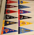 "NEW NBA Basketball Teams Mini Pennants 4""x9"" New Rico"