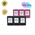 Kyпить Lot #63 XL 63XL Ink Cartridge for HP OfficeJet 5258 5255 4655 4652 4650 3831 на еВаy.соm