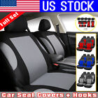 9PCS Set Auto Seat Covers for Car Truck SUV Van Universal Protectors Polyester