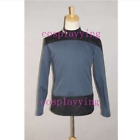 Star Trek Captain Jean-Luc Picard's Cosplay Costume Uniform Outfit Casual Shirt on eBay