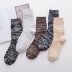 5Pairs/Lots Ankle Socks Casual Breathable Men's Wool Cashmere Socks High Quality
