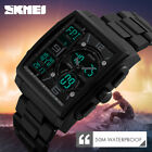 Fashion Men Military Tactical Digital Analog Sport Date Quartz Shock Wrist Watch image